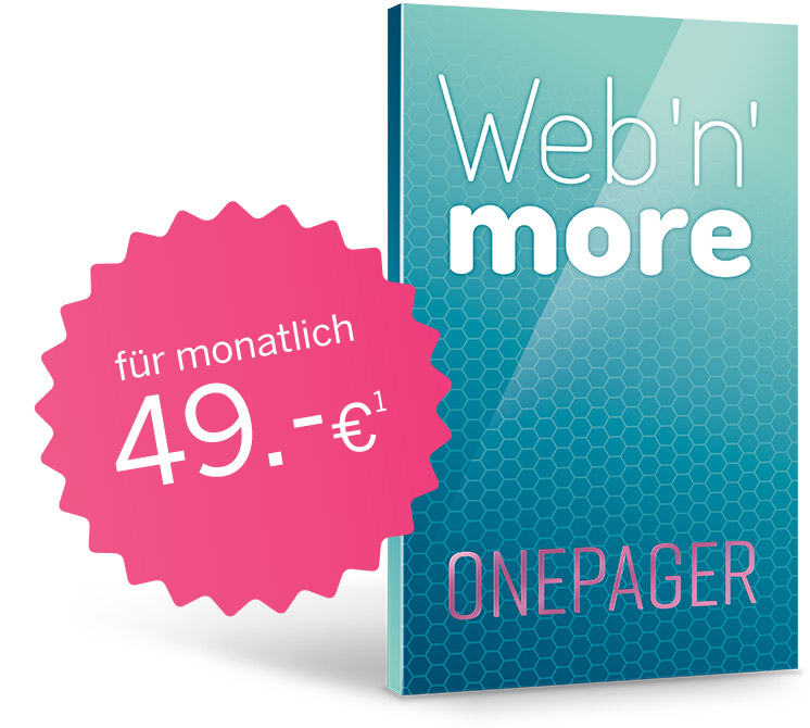 Web'n'more OnePager